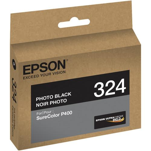 Epson T324 Photo Black UltraChrome HG2 Ink Cartridge T324120