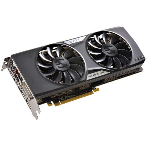 EVGA GeForce GTX 960 FTW Gaming Graphics Card 04G-P4-3969-KR