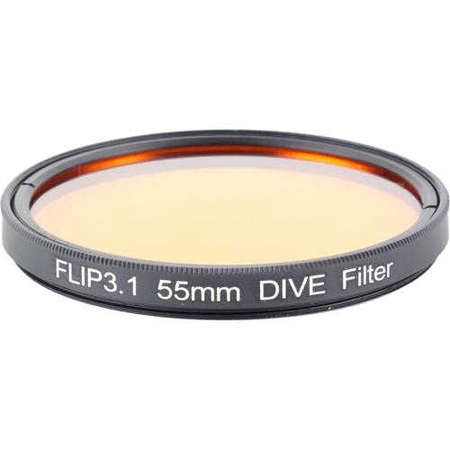 Flip Filters 55mm Threaded Underwater Color Correction FF-55DIVE