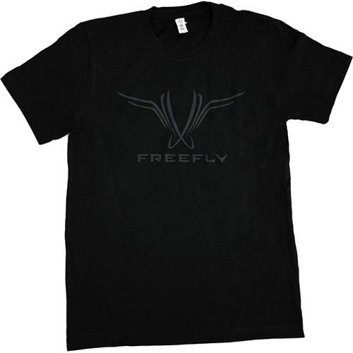 FREEFLY Black Organic Cotton T-Shirt with Freefly 940-00017-XL