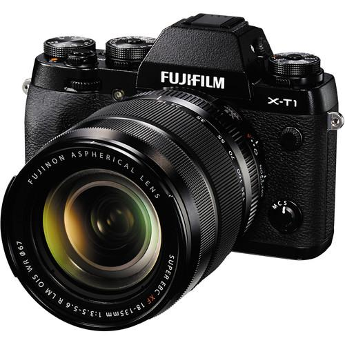 Fujifilm X-T1 Mirrorless Digital Camera with 18-135mm Lens and