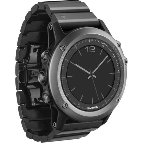 Garmin fenix 3 Multisport Training GPS Watch 010-01338-25