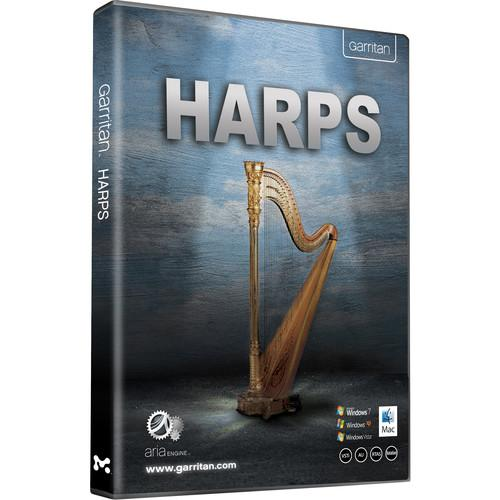 GARRITAN Harps - Virtual Instrument (Download) 13-GHPDCO