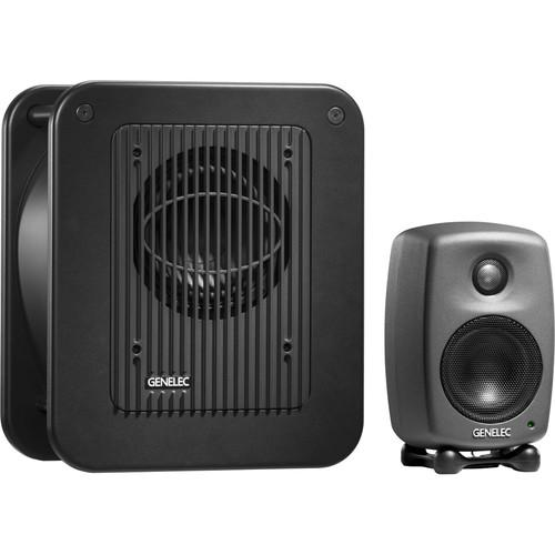 Genelec STEREOPAK 8010 Bi-Amplified Active 8010.LSE STEREOPAK