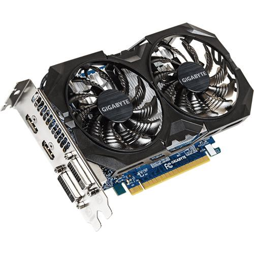 Gigabyte GeForce GTX 750 Ti WINDFORCE 2X Graphics GV-N75TOC2-2GI