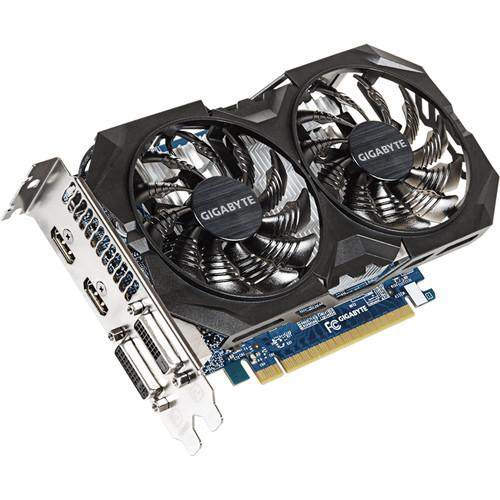 Gigabyte GeForce GTX 750 Ti WINDFORCE 2X GV-N75TWF2OC-4GI