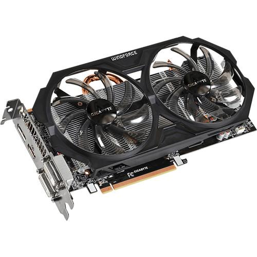 Gigabyte Radeon R7 370 WINDFORCE 2X Graphics GV-R737WF2OC-4GD