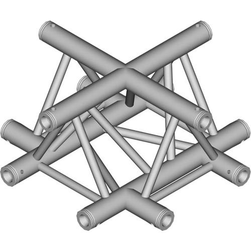 Global Truss 1.64' 4-Way Triangular Cross-Junction TR-4100UD