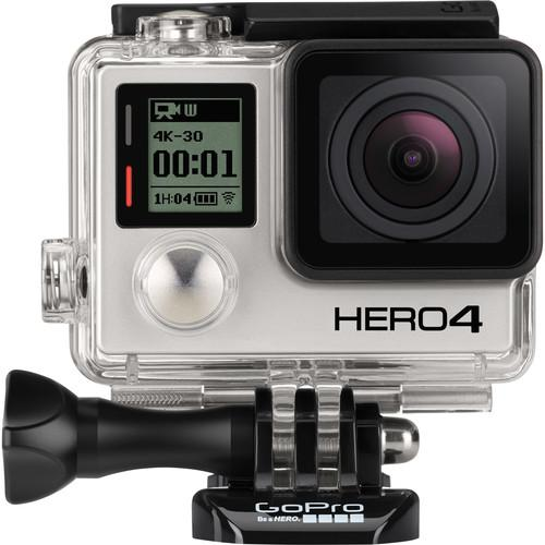 GoPro GoPro HERO4 Black and LCD Touch BacPac Kit