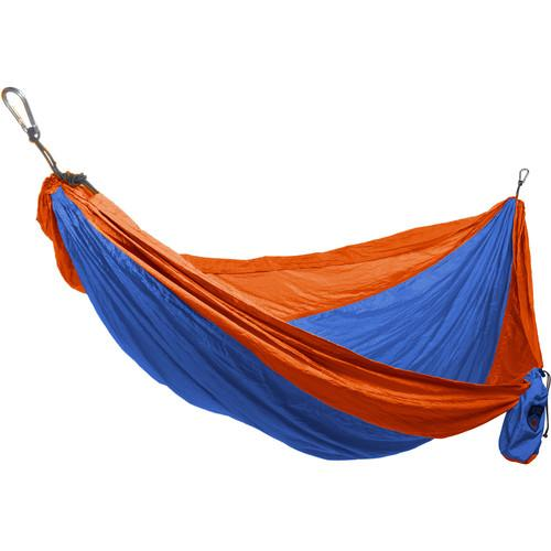 Grand Trunk Double Parachute Nylon Hammock (Orange/Blue) DH-27