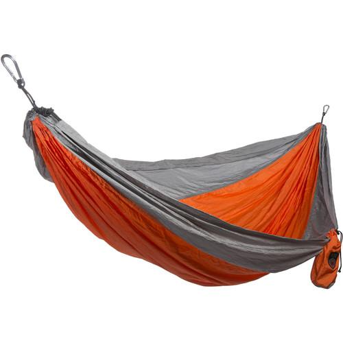 Grand Trunk Double Parachute Nylon Hammock (Orange/Silver) DH-08