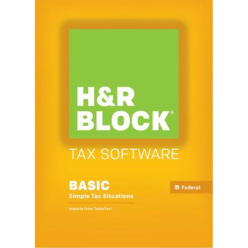 H&R Block 15 Basic (Download, for Mac) 1023800-15