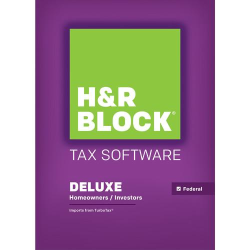 H&R Block  15 Deluxe (Download, Mac) 1423800-15