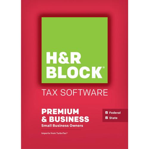 H&R Block H&R Block 15 Premium and Business 1116800-15