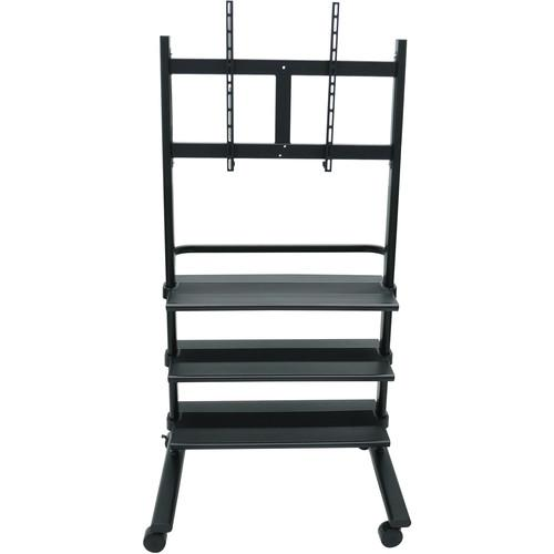 H. Wilson Universal LCD TV Stand with Three Shelves WFP100B