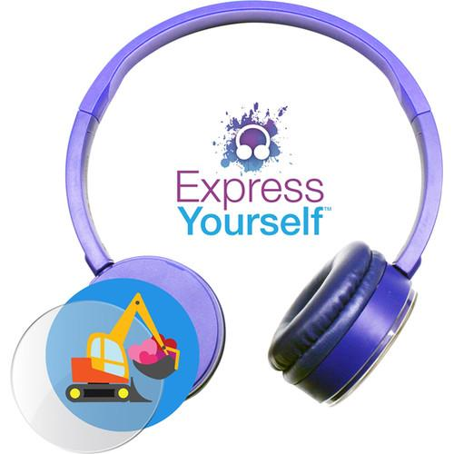 HamiltonBuhl Express Yourself Headphone for Children KPCC-BLU