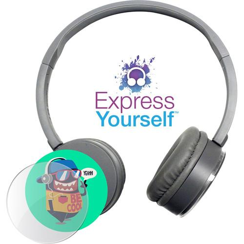 HamiltonBuhl Express Yourself Headphone for Children KPCC-GRY