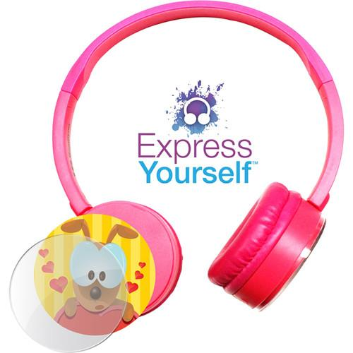 HamiltonBuhl Express Yourself Headphone for Children KPCC-PNK
