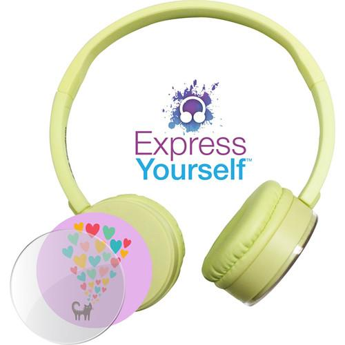 HamiltonBuhl Express Yourself Headphone for Children KPCC-YLO
