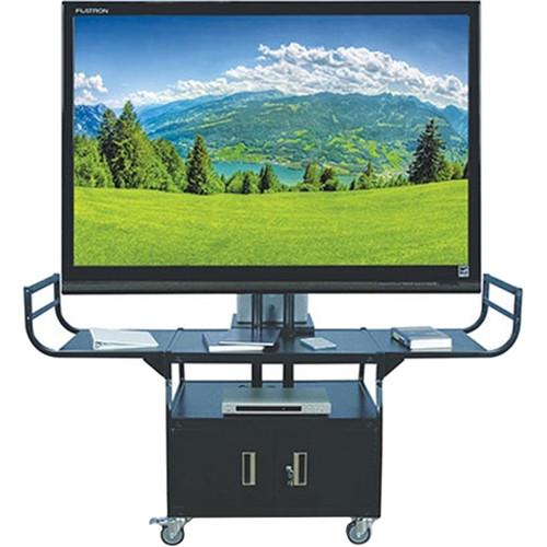 HamiltonBuhl Rolling Metal Cart for Flat Panel TVs up to SWB-80
