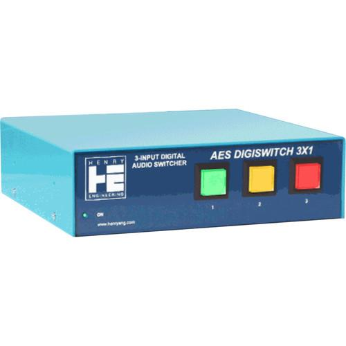 Henry Engineering AES DigiSwitch 3x1 AES DIGISWITCH 3X1