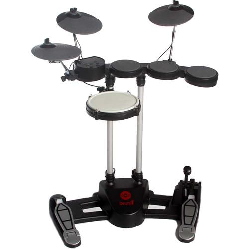 Hitman Drum-1 - Compact Electronic Drum Kit (Black) DRUM 1 BLACK