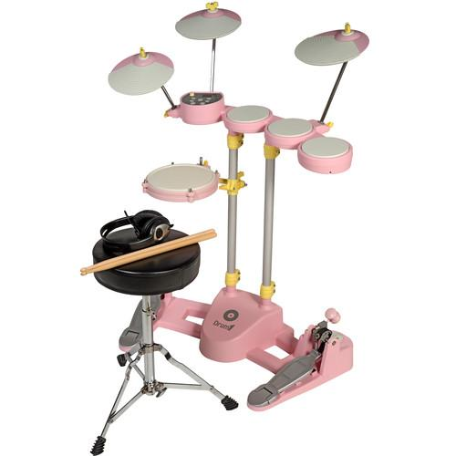 Hitman Drum-1 - Compact Electronic Drum Kit (Pink) DRUM 1 PINK