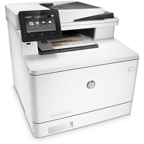 HP Color LaserJet Pro M477fdn All-in-One Laser Printer CF378A