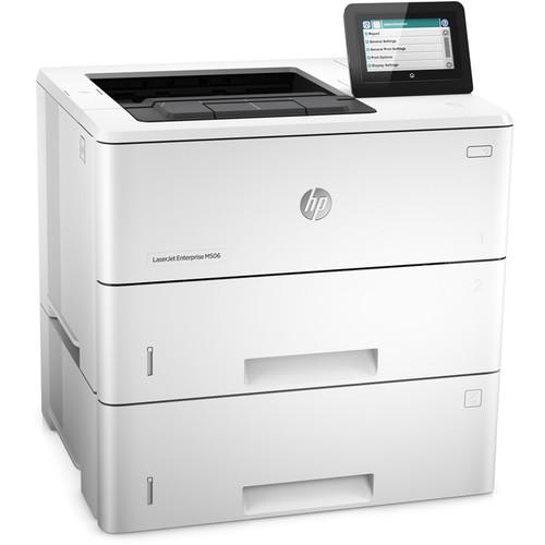 HP LaserJet Enterprise M506x Monochrome Laser Printer F2A70A