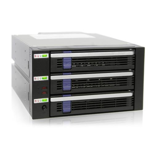 Icy Dock DataCage Classic 3-Bay EZ-Tray Advance MB453SPF-B