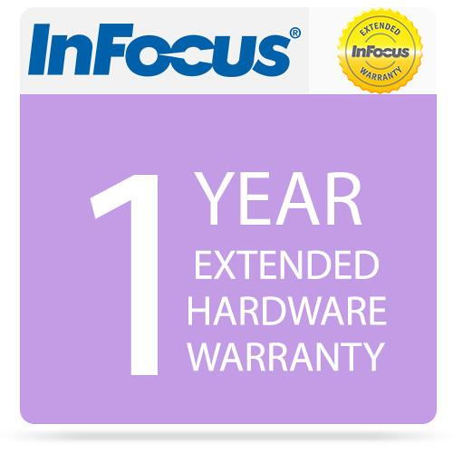 InFocus 1-Year Extended Hardware Warranty EPWHW40JT1
