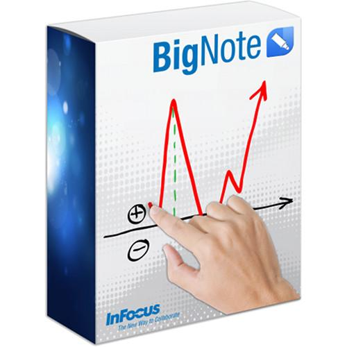 InFocus BigNote 1.2 Whiteboard 100-Seat License INS-BN-100