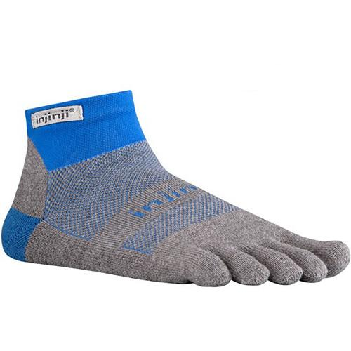 Injinji Run 2.0 Medium Original Weight Mini-Crew 202130-MBL-MD