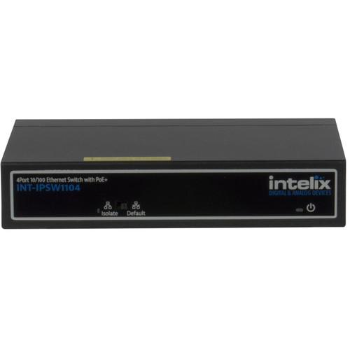 Intelix 4-Port 10/100 BaseT Ethernet Switch INT-IPSW1104
