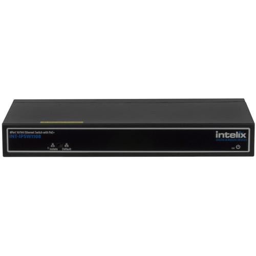 Intelix 8-Port 10/100 BaseT Ethernet Switch INT-IPSW1108
