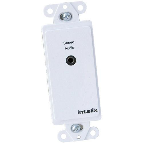Intelix Analog Stereo Audio Wall Plate Balun AVO-A2MINI-WP-F