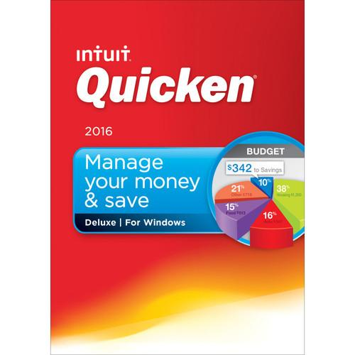 Intuit  Quicken Deluxe 2016 (Download) 426788