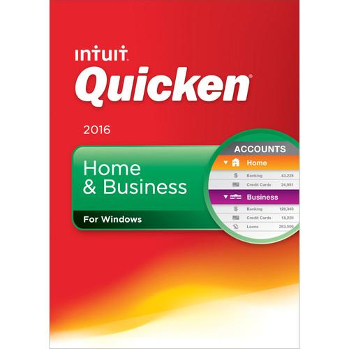 Intuit Quicken Home & Business 2016 (Download) 426787