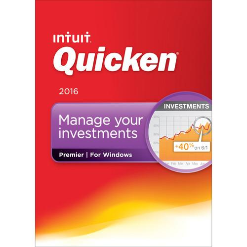 Intuit  Quicken Premier 2016 (Download) 426789