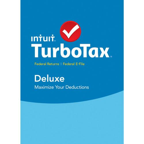 Intuit TurboTax Deluxe Federal   E-File 2015 426935