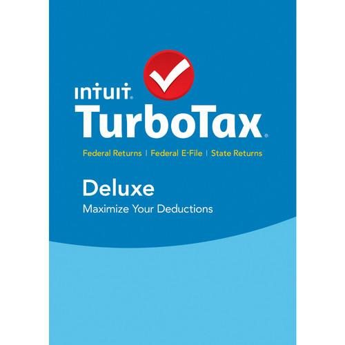 Intuit TurboTax Deluxe Federal E-File   State 2015 426933