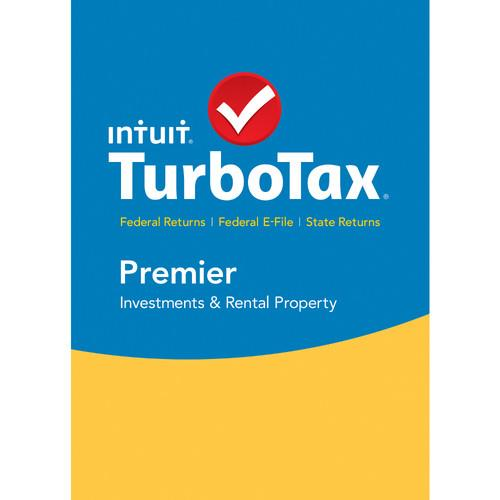Intuit TurboTax Premier Federal E-File   State 2015 426929
