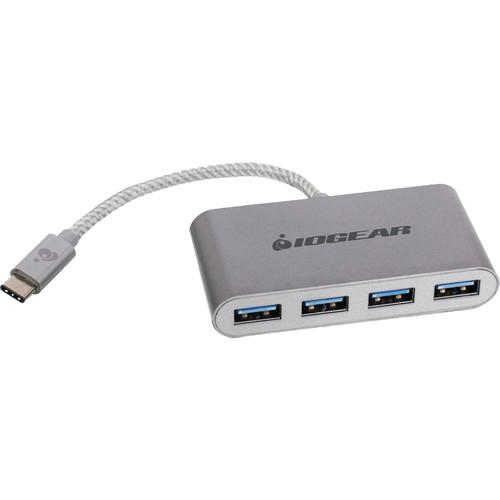 IOGEAR  HUB-C USB-C to 4-Port USB-A Hub GUH3C14