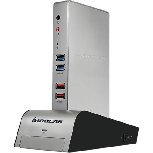 IOGEAR met(AL) Vault Dock USB 3.0 Docking Station GUD310