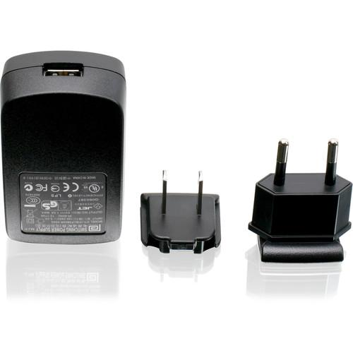 IOGEAR USB Power Adapter with US and European Plugs GPA60002