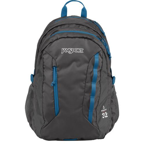 JanSport Agave 32L Backpack (Forge Gray) JS00T14F6XD