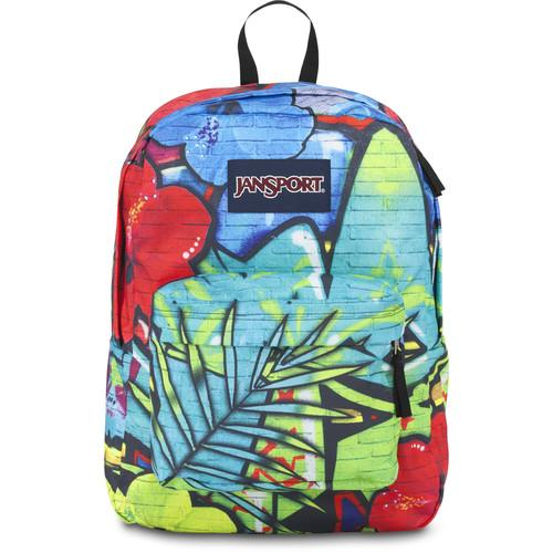 JanSport High Stakes Backpack (Multi Graffiti) JS00TRS70E6