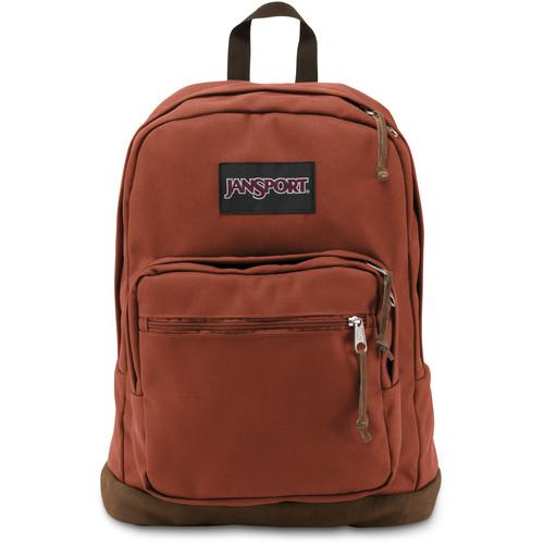 JanSport Right Pack 31L Backpack (Burnt Henna) JS00TYP704T