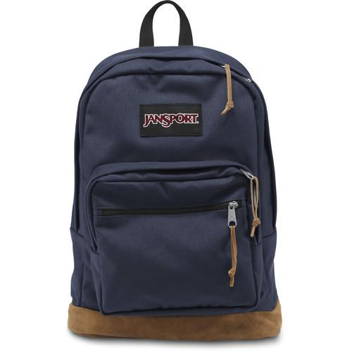 JanSport Right Pack 31L Backpack (Navy) JS00TYP7003