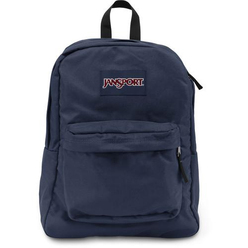 JanSport SuperBreak 25L Backpack (Navy) JS00T501003